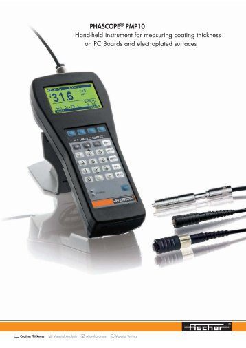 PHASCOPE® PMP10 Hand-held instrument for measuring ... - Labsys