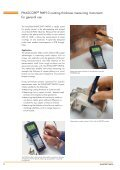PHASCOPE® PMP10 Hand-held instrument for measuring ... - Labsys - Page 2