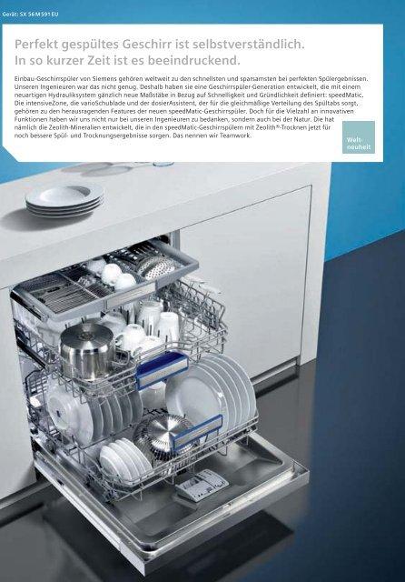 Einbau-Geschirrspüler - Siemens