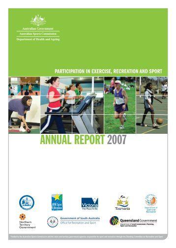 ERASS Report 2007 - Australian Sports Commission