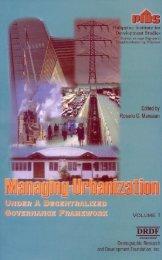 Metropolitan Arrangements - Philippine Institute for Development ...