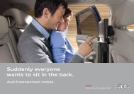 Suddenly Everyone Wants To Sit In The Back - Audi USA