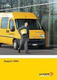 Rapport de gestion 2004Le lien est ouvert dans ... - La Poste Suisse