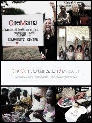 OneMama-MediaKit