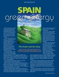 Spain: Green Energy - Forbes Special Sections