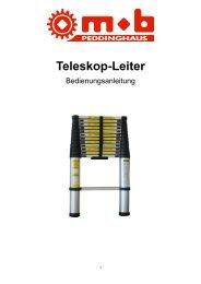 Teleskop-Leiter - Peddinghaus