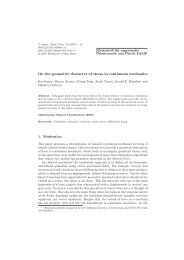 On the geometric character of stress in continuum mechanics