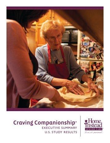 Seniors and Nutrition Executive Summary - U.S. Study Results