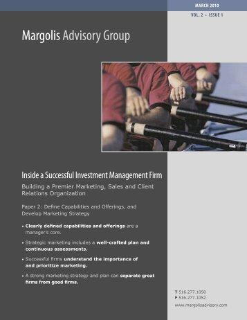 Margolis Advisory Group Margolis Advisory Group - iiforums.com