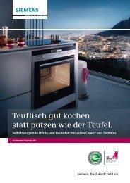 Premium Plus-Herdset - Siemens Hausgeräte