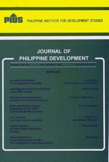 Untitled - Philippine Institute for Development Studies