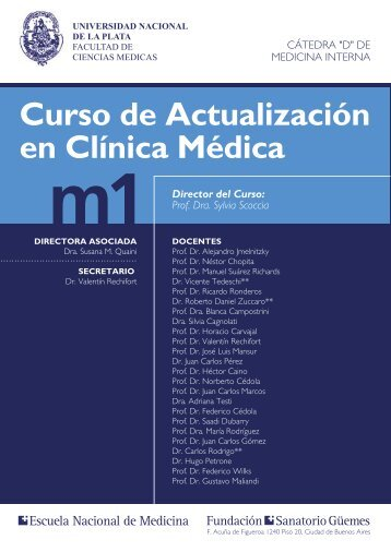 Curso de Actualización en Clínica Médica m1 - Fundación Sanatorio ...