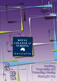 Inspiring, Progressing and Promoting Nursing Strategic Plan