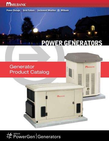 Milbank Generators