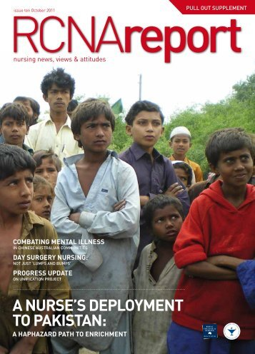 a nurse's DePloyment to Pakistan - Royal College of Nursing, Australia