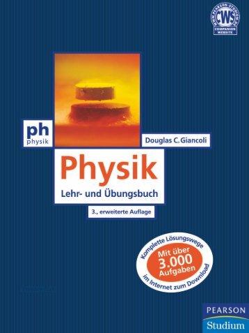 Physik - 3., erweiterte Auflage ... - Pearson Studium