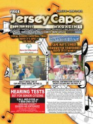 HEARING TESTS - Jersey Cape Magazine Online!
