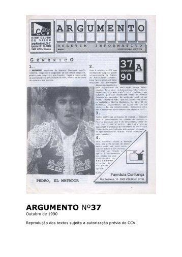 Argumento nº37 - Cine Clube de Viseu