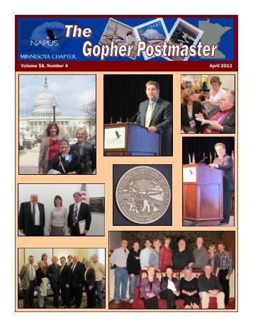 Volume 58, Number 4 April 2011 - Minnesota NAPUS