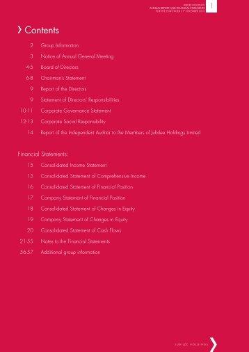 Jubilee Insurance 2010 Annual Report