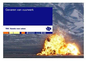 Gevaren van vuurwerk - NIFV