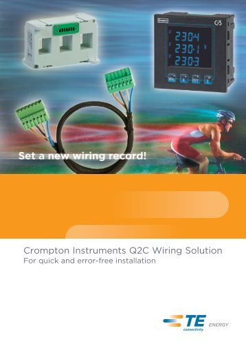 Q2C Wiring Solution Brochure - Crompton Instruments