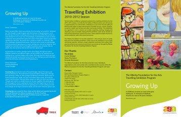 Growing Up - Art Gallery of Alberta