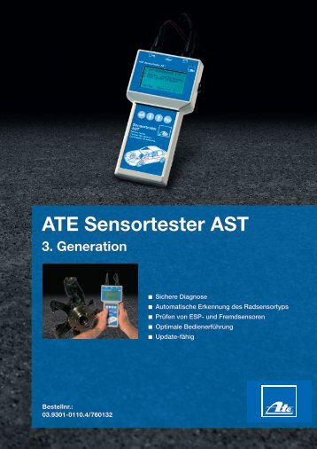 ATE Sensortester AST 3. Generation
