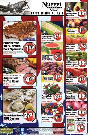 3/$1 98¢ 98¢ 68¢ 98¢ - Nugget Market