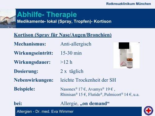 Allergien - Rotkreuzklinikum München