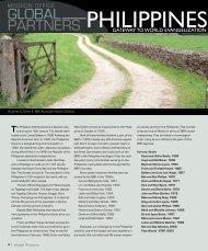 GLOBAL PARTNERS - Baptist Bible Tribune