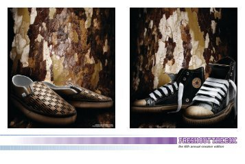 the 6th annual sneaker edition - Peace Magazine