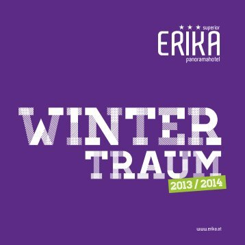 Winterpreisliste als PDF - Hotel Erika