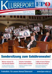 Klubreport 10 2011 - FPÖ
