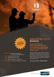 INDuSTRyNigHT - Civil Contractors Federation