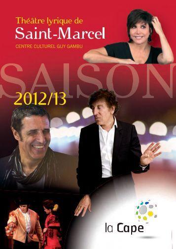 Programme des spectacles 2012/2013 - CAPE