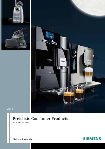 Consumer Products 2011 - Siemens