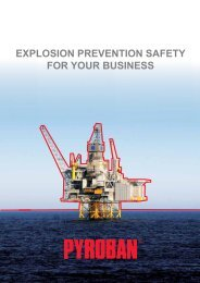 explosion prevention safety for your business - Pyroban Group Ltd