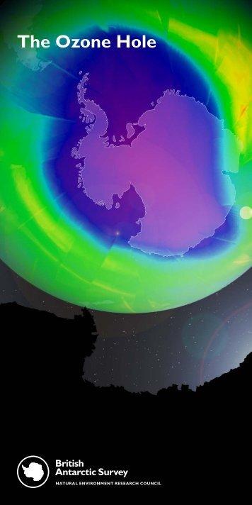 The Ozone Hole - British Antarctic Survey