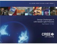 Design Challenges in LED-based Light Fixtures - Architectural SSL