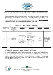 Avviso pubblico per il conferimento di n.1 incarico libero