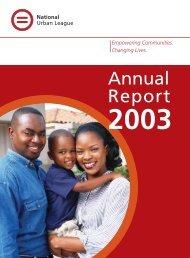 Annual Report - National Urban League