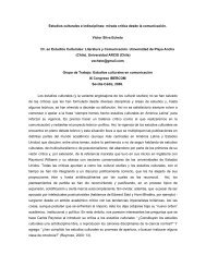 Mirada crítica a los estudios culturales desde la ... - Grupo.us.es