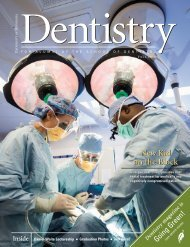 Dentistry Magazine - School of Dentistry - University of Minnesota