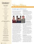 Dentistry Magazine - School of Dentistry - University of Minnesota - Page 4