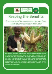 Reaping the Benefits - Seeds of Life
