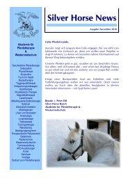 Silver Horse News - silverhorseranch