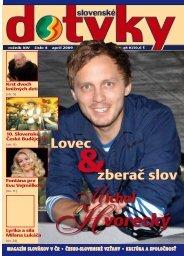 Slovenské dotyky 04 (PDF - 4,6 MB) - Slováci vo svete