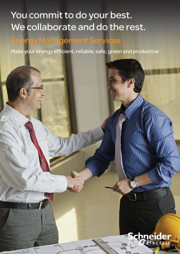 Professional Services India brochure - Schneider Electric