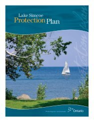 Lake Simcoe Protection Plan